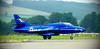 Hawker Hunter (RAF Blue Diamonds) - Edited