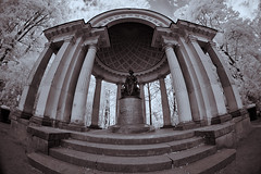 X-A1 2019-06-13 006 (linebrell) Tags: 7artisans 75mm fisheye pavlovsk monochrome infrared 720nm