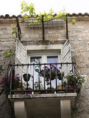Flowers on the balcony (dramadiva1) Tags: balcony flowers plants mediterranean corfu