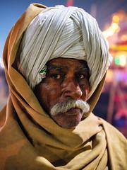 Turban Thatha. (Prabhu B Doss) Tags: prabhubdoss fujifilm gfx50s gf3264mm kumbhmela kumbh prayagraj portrait travelphotography turban