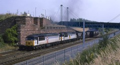 56127 & 56092 - Bootle Branch Junction (8A.Rail) Tags: 7f82 56092 56127 bootlebranchjunction edgehill mgr class 56