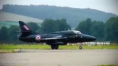 Photo of Hawker Hunter (RAF Black Arrows) - Edited