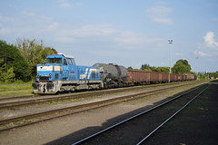 736008 Lucenec (Gridboy56) Tags: zsskcargo zssk lucenec slovakia wagons cargo europe railways railroad railfreight trains train locomotive locomotives 735 736 736008 zvolen