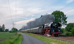 Tag der Sonderzüge Teil 6 (Klaus Z.) Tags: eisenbahn kbs 395 völlenerfehn ostfriesland br 01 519 personenzug sonderzug westfalendampf dampflok sommer