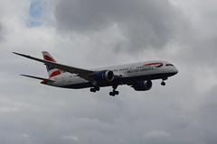 British Airways Boeing 787-8 Dreamliner, G-ZBJH (Lukas Gwynne) Tags: boeing 787 7878 dreamliner dream liner gzbjh british airways air ways ba9150 london gatwick heathrow ba