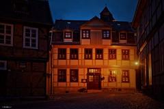 Quedlinburg Nightline (hherrlich) Tags: quedlinburg altstadt hherrlich hergenweyrich urlaub finkenherd geschichte fachwerk sachsenanhalt deutschland