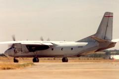SP-KWC IAT Fairford 24 July 1995 (ACW367) Tags: spkwc antonov an26 polishairforce iat fairford
