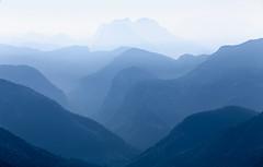 Lavish Layers (One_Penny) Tags: austria karwendel rofan rofangebirge canon6d landscape mountains mountainscape nature photography blue color shades tones depth mountainrange depthoffield shapes lines layers lavish shadesofblue light luminous