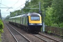 Scotrail Class 43s 43036 & 43129 - Lenzie (dwb transport photos) Tags: abellio scotrail hst locomotive 43036 43129 lenzie