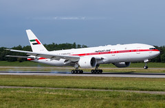 BSL ➡️ A6-ALN Boeing 777-200 Abu Dhabi Amiri Flight (Stephane GolfTraveller) Tags: aeroport airport planespotting ©stephanegolftraveller bsl mlh euroairport basel mulhouse flughafen lfsb canon airliners mountains forest plane landing abudhabi abudhabiamiriflight boeing 777 777200