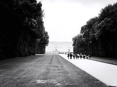 5864 - Caserta Royal Palace (Diego Rosato) Tags: caserta royal palace reggia realm parco park giardino garden reale bianconero blackwhite fuji x30 rawtherapee