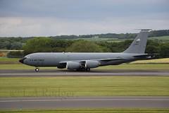 KC135 23523 (TF102A) Tags: prestwick prestwickairport aviation aircraft airplane usaf usairforce kc135 23523