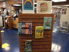 West Oakland - Pride 2019 Book Display (oaklandlibrary) Tags: oakland westoakland westoaklandbranch books bookdisplay bookdisplays book displays display