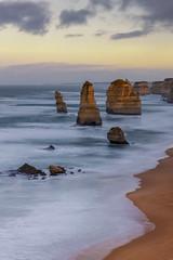 Twelve Apostles, Great Ocean Road, Victoria, Australia (MelvinNicholsonPhotography) Tags: australia victoria greatoceanroad twelveapostles seastacks sunrise dawn ocean water winter