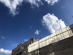 building site (Hayashina) Tags: london clouds sky sunlight buildingsite