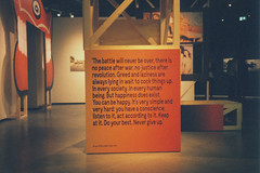Lust For Life Exhibition. (35mm) | Exp. Fujichrome Sensia 200. (samuel.musungayi) Tags: film 35mm 24x36 135 analog argentique dia positive slide color colour colors couleur expired grain pellicule pelicula scan yashica carl zeiss fujifilm fujicolor fujichrome sensia samuel musungayi photography photographie fotografia rotterdam netherlands samuelmusungayi nederlands fotomuseum