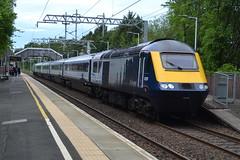 Scotrail Class 43s 43129 & 43036 - Lenzie (dwb transport photos) Tags: abellio scotrail hst locomotive 43129 43036 lenzie