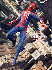 P4_SPIDER-MAN_008 (siuping1018) Tags: hottoys marvel siuping1018 spiderman playstation4 xboxone stanlee disney actionfigures onesixthscale photography toy canon 5dmarkii 50mm