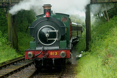 GWR: 813 Andrews House Tanfield Railway (emdjt42) Tags: tanfieldrailway gwr 813 andrewshouse
