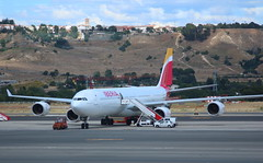 Iberia EC-JLE Airbus A340-642 at Madrid MAD Spain (Cupertino 707) Tags: iberia ecjle airbus a340642 madrid mad spain