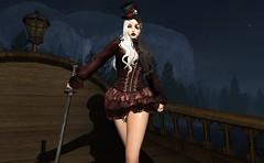 Pirate ship (beccaprender) Tags: pirate ak cosplay fantasy catwa catya bento maitreya lara doe session rose suicidalunborn