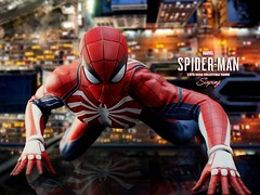 P4_SPIDER-MAN_002a (siuping1018) Tags: hottoys marvel siuping1018 spiderman playstation4 xboxone stanlee disney actionfigures onesixthscale photography toy canon 5dmarkii 50mm