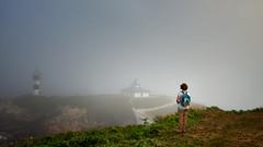 Looking at Pancha Island. (hajavitolak) Tags: paisaje landscape panchaisland islapancha ribadeo lugo galicia spain niebla fog minolta minolta1735 sinespejo evil mirrorles sony sonya7ii sonya7m2