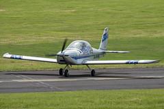 G-SHMI (hartlandmartin) Tags: gshmi evektor ev97 staverton gloucester glo egbj aircraft airport aviation aeroplane fujifilm xm1 xc50230ii
