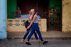 Girls & Shoes (Strocchi) Tags: moron cuba girls shoes walking reportage canon eos6d 24105mm
