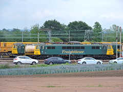 86614 & 86612 (mike_j's photos) Tags: crewe class86 freightliner basfordhall 86612 86614