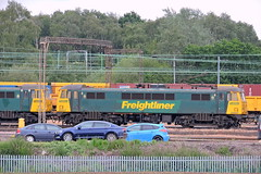 86607 (mike_j's photos) Tags: crewe class86 freightliner 86607 basfordhall