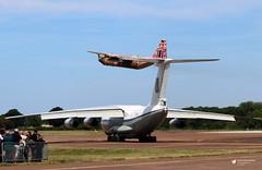 347 Lockheed C-130H Hercules, Royal Jordanian Air Force, RAF Fairford, Gloucestershire (Kev Slade Too) Tags: 347 lockheed c130h hercules gutsairlines royaljordanianairforce 78820 ilyushin il76 midas ukrainianairforce egva raffairford riat2017 gloucestershire