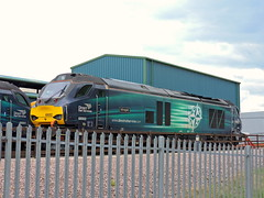"68002 ""Intrepid"" (mike_j's photos) Tags: crewe class68 drs directrailservices 68002 grestybridge intrepid"