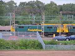 86639 (mike_j's photos) Tags: crewe class86 freightliner 86639 86607 basfordhall