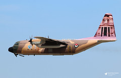 347 Lockheed C-130H Hercules, Royal Jordanian Air Force, RAF Fairford, Gloucestershire (Kev Slade Too) Tags: 347 lockheed c130h hercules gutsairlines royaljordanianairforce egva raffairford riat2017 gloucestershire