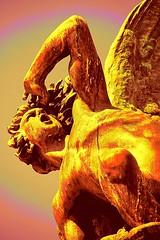 Monumento a Lucifer. Parque del Retiro. Madrid. (blanferblanc) Tags: caido angel lucifer estatua monumento elretiro demonio bronce parque madrid