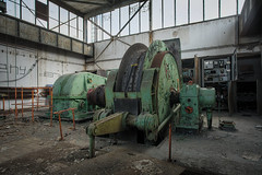 industrial green (jkatanowski) Tags: urbex urban exploration europe decay derelict destroyed decaying decayed abandoned forgotten lost lostplace indoor industry industrial interior machinery machine steel mess metal mine sony a7m2 1740mm
