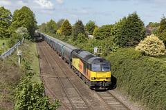 20190504_IMG_6230 (PowerPhoto.co.uk) Tags: gbrailfreight gbrf class60 diesel locomotive 60002 tempest skeltonjunction 6e09 biomasstrain train railway midcheshireline