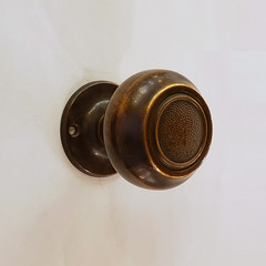 Antique Bronze Doorknob Set (06104-ORB) (The Door Store) Tags: vintage salvage antique reclaimed original unique used period era classical traditional aged historic old oldfashioned worn secondhand rustic door store doorstore thedoorstore toronto ontario canada doorknob hardware brass bronze