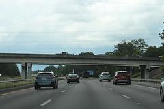 M. C. Anderson Memorial Bridge I95nb, Savannah (MJRGoblin) Tags: georgia overpass savannah interstate95 chathamcounty 2019