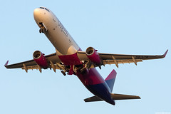 HA-LTB (Andras Regos) Tags: aviation aircraft plane fly airport bud lhbp spotter spotting takeoff wizz wizzair airbus a321