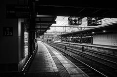 R0103990 copy- on1 (douglasjarvis995) Tags: station railway train mono monochrome bnw ricoh grii leeds yorkshire