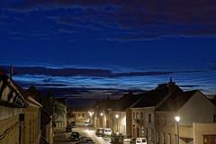 Lichtende nachtwolken  NLC 13 juni 2019 0h15 (bartseyshoutem) Tags: lichtendenachtwolken noctilucentclouds noctilucent clouds cloud nachtwolk cloudspotter houtem dorpsstraat bartseys bartseyshoutem pentaxk1 cloudporn nacht landscape dxo