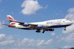 G-CIVL // British Airways // B747-436 // Miami (SimonNicholls27) Tags: miami mia british ba boeing airways 747400 kmia 747436