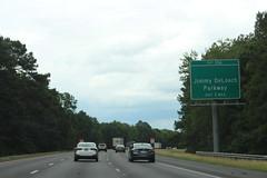 Georgia I95nb Exit 106 1 mile (MJRGoblin) Tags: savannah georgia chathamcounty interstate95 2019