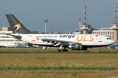 TC-LER (Andras Regos) Tags: aviation aircraft plane fly airport bud lhbp spotter spotting uls ulscargo cargo freighter ulsairlines airbus a310 a310f a310300 a310300f