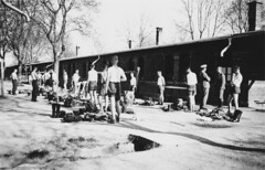 inspection 2 (hbondmilitaria) Tags: inspection camp bunker ww2 wehrmacht german