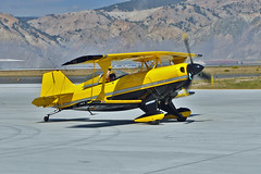 Pitts S-2S Special N99MF (skyhawkpc) Tags: vailvalleyjetcenter wheelswingsfestival eagle co colorado eaglecountyairport ege kege allrightsreserved nikon 2018 gverver copyright pitts s2s special 3004 n99mf aircraft airplane aviation airshow