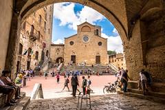 San Gimignano (f_foschi.) Tags: duomo san gimignano toscana tuscany italia italy nikond500 piazza del francesco foschi