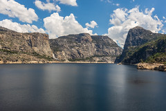 Hetch Hetchy valley & reservoir (mpalmer934) Tags: yosemite national park california hetch hetchy waterfall landscape scenery valley lake reservoir sky clouds wilderness outdoors dam